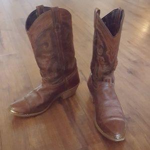 Tecovas - Brown Leather Cowboy Boots
